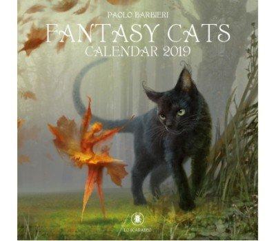 "Календарь ""Фантастические Кошки"" на 2019 год"
