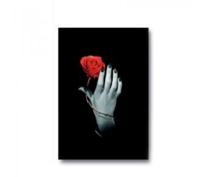Дневник Роза в руке